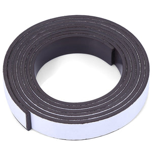 10 x 1.5mm 1m Self-adhesive Flexible Rubber Magnet Strip Tape Roll