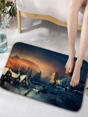 Fairy Tale Castle Shower Curtain and Rug
