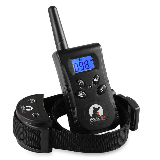 PaiPaitek PD520 Waterproof Remote Dog Training Shock Collar
