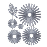 Flowers Leaves Pattern Embossing Cutting Dies for DIY Scrapbook Album Paper Card Making