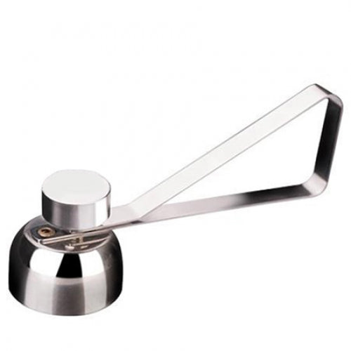 Stainless Steel Egg Opener Measuring Ball Eggshell Top Cracker