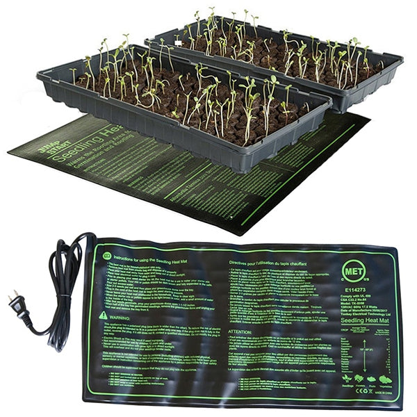 Small Grass Plant Nursery Silicone Heating Pad