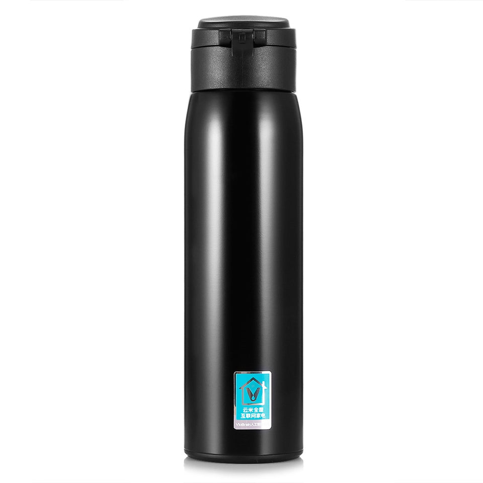Mijia VIOMI 460ml Stainless Steel Vacuum Insulated Mug Sealed Water Bottle