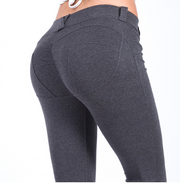 Peach Hip High Waist Yoga Pants