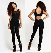 Mesh Active Workout Jumpsuit
