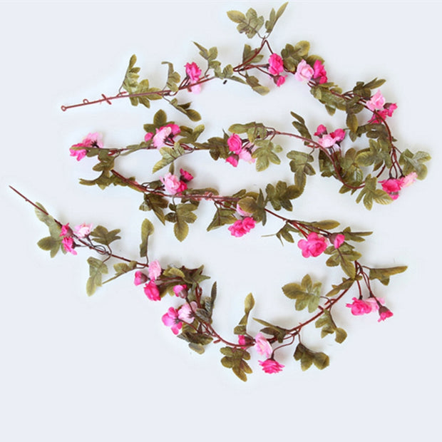 230CM 51HEADS Flower High Fidelity Rose Flower Rattan Home Decoration