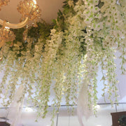 12 Branch Wisteria Wedding Decorate Home Decorate Artificial Flower 105CM