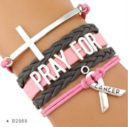 Yoga-Supreme™ Pink Survivor Bracelet