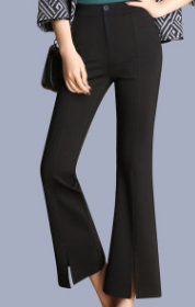 Bell-bottom trousers for ladies slim and slim