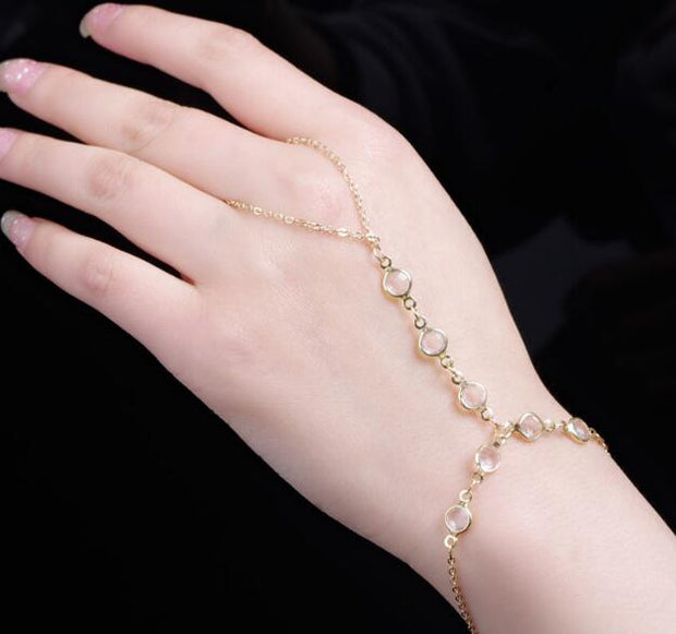 All-match temperament crystal beads Bracelet