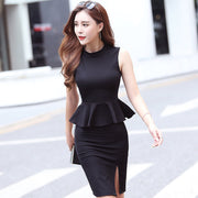 Ruffled two-piece