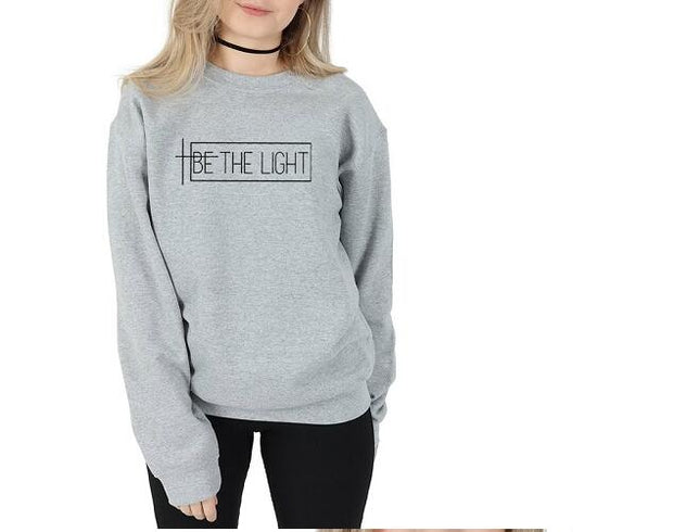 European and American trend letters casual sweater