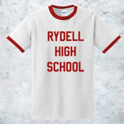 European and American letters RYDELL new men and women T-shirt