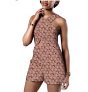 Women Printed Cotton Jumpsuit