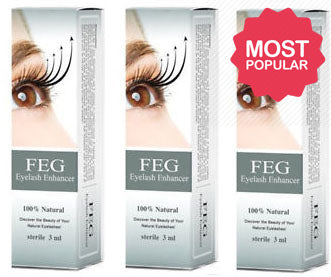 Feg Eyelash Enhancer X 3