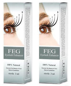 Feg Eyelash Enhancer X 2
