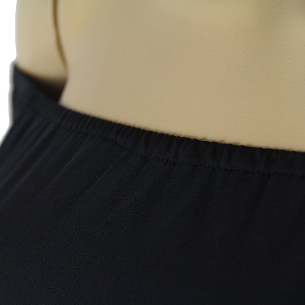 USA Size Black and white long sleeve bottoming skirt