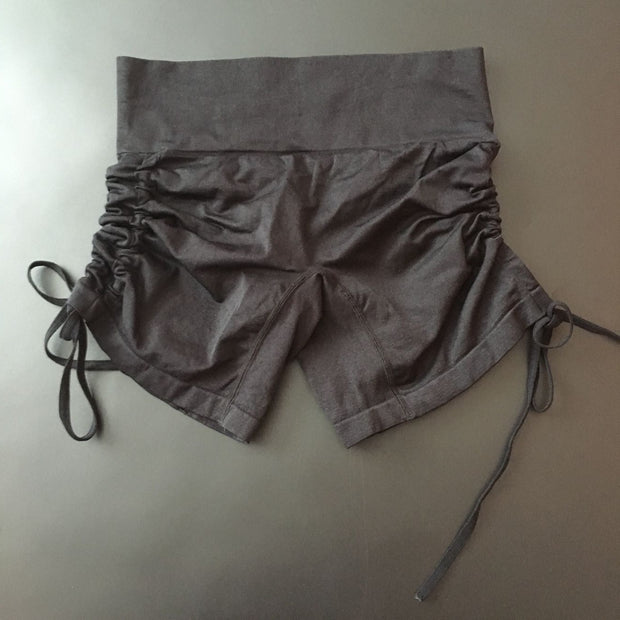High Waist Sports Fitness Quick-drying Shorts