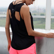 New yoga fitness quick-drying wicking Blouse