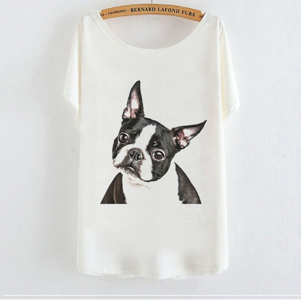 Bat Sleeve Animal Pattern T-shirt