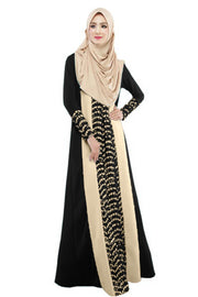 Muslim Fashion Long Sleeve Kaftan Dress