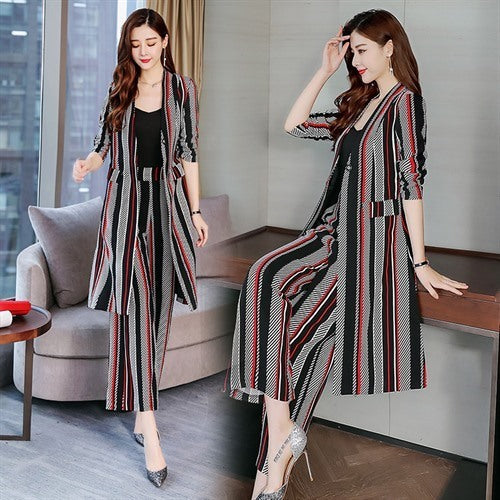 Women Stylish two-piece Suit & Pants