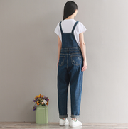 rand Jeans Women Jumpsuit Denim Romper Overalls