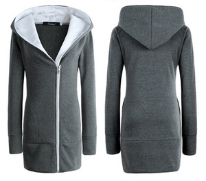 Women's Cotton Hoodie Warm Coat