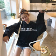 Fashion Women's Sweatshirts Hoodies korean Style