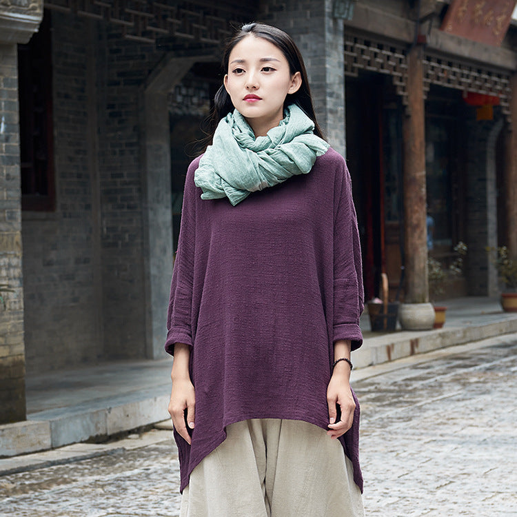 Batteryshow spinning original cotton dress 2017 new winter retro all-match beautiful ladies long sleeved pullover shirt