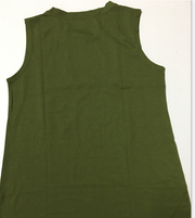 Lady army green vest