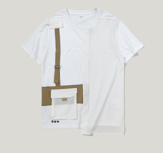 Summer Solid Contrast Color Tee