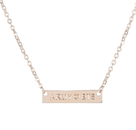 Fashion Letters Dreamy Necklace