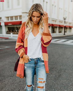 2018 knit shirt new cross-border explosion Ebay Amazon wish long-sleeved cardigan sweater