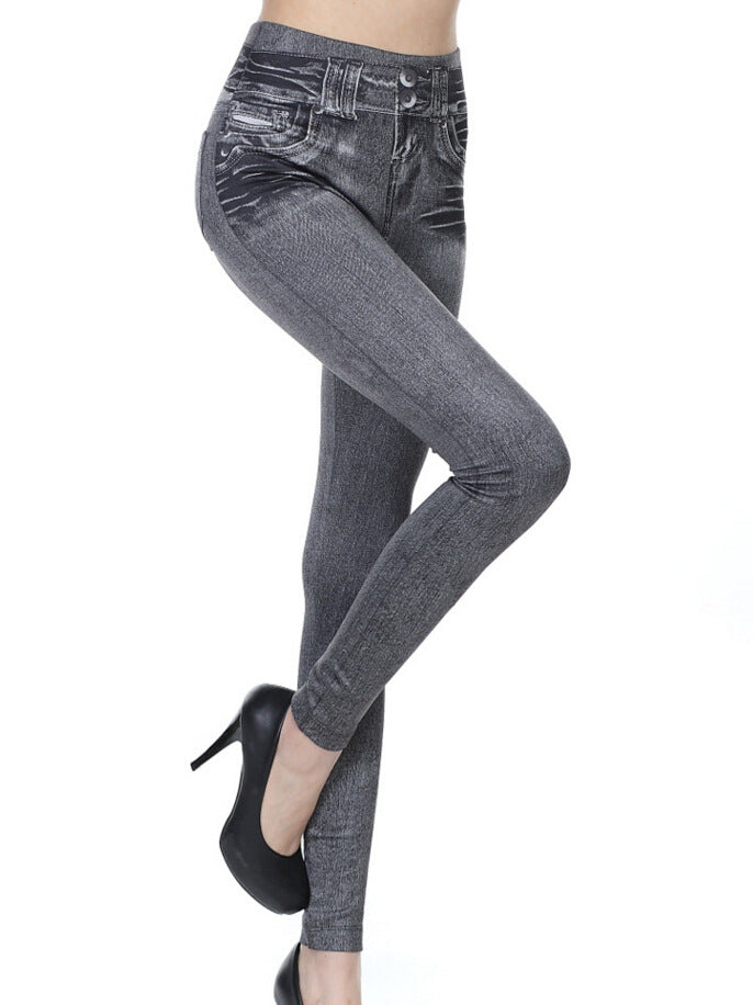 Fashion Women Skinny Stretch Jeans