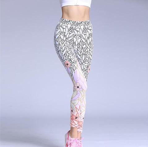 Flower-Up Yoga Leggings