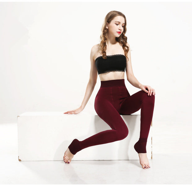 Winter Cashmere Stretch Warm Leggings