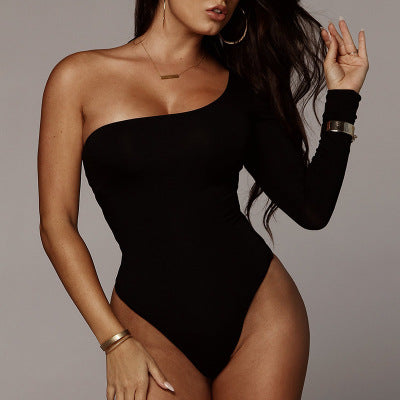 Long sleeve sexy jumpsuit