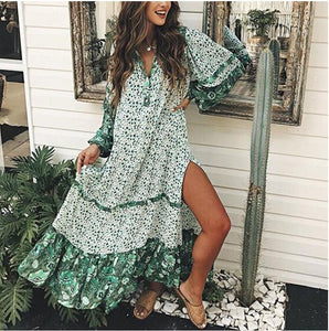 Oregano bohemian dress