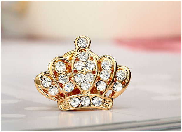 Crown Shape Brooch