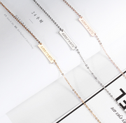 Gold Necklace Silver Bracelet Korean Fashion Women Girls Pendant Jewelry