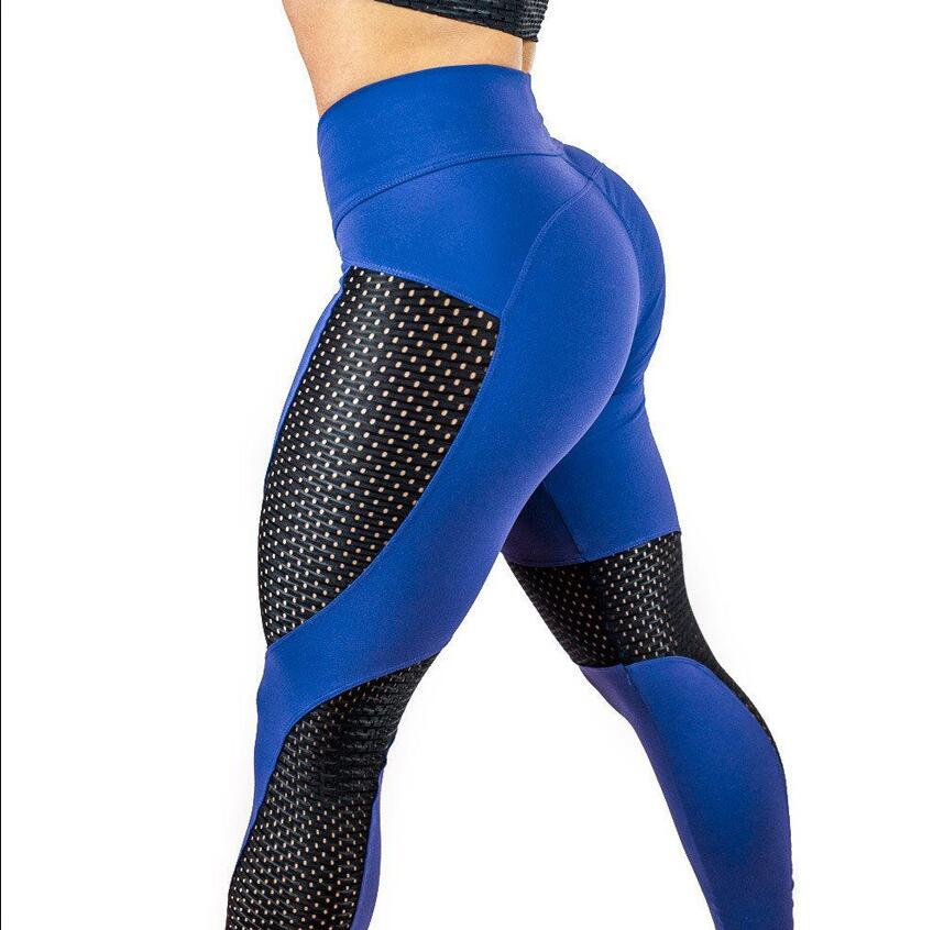 New Quick Dry Mesh Push Up Sports leggings