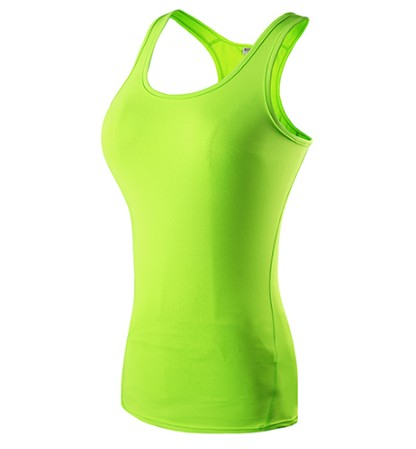 Yoga Sports Vest Fitness Tight Sleeveless Tank Top