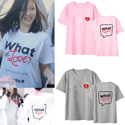 T-SHIRT - TWICE - WHAT IS LOVE