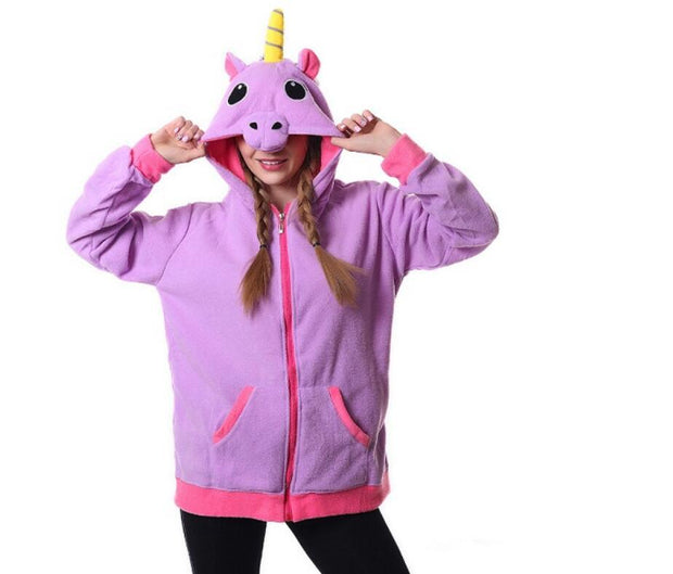 Adorable Candy Unicorn Hoodie