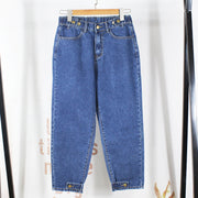 Loose Large Size Stretchy Denim Jeans