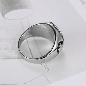 Stainless Steel God's Eye Rings