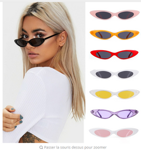 New oval frame sunglasses transparent ocean glasses glasses Personality retro sunglasses fashion wild sunglasses