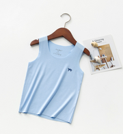 Sleeveless Casual Comfortable Cotton Vest