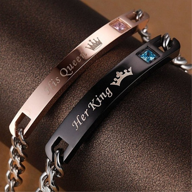 Bracelet - Her King & His Queen